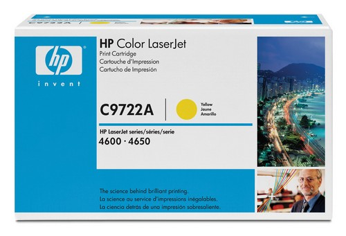 laser toner & cartridges C9722A